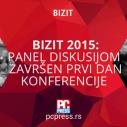 Panel diskusijom završen prvi dan konferencije BIZIT 2015