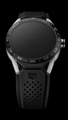 SAR8A80.FT6045 TH CONNECTED PACKSHOT 2015 - BLACK STRAP - DIAL OFF
