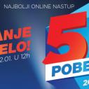Glasajte za najbolji online nastup 2015.