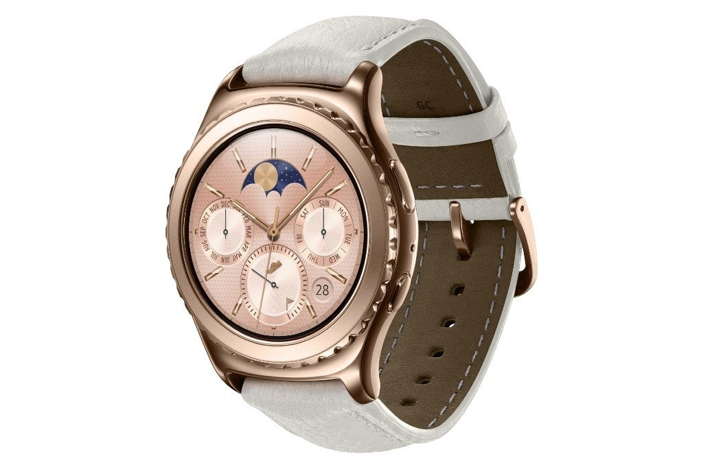 Samsung Gear S2 classic_Rosegold_Rside