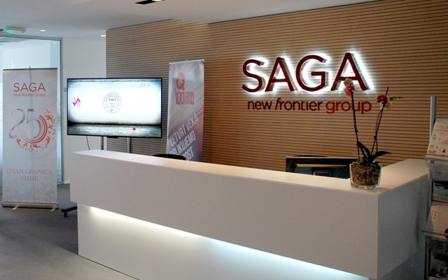 Saga - Glavni ulaz