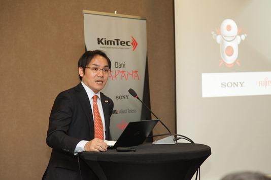Yoshifumi Kanno prvi sekretar Ambasade Japana