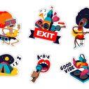 Moja Exit Avantura - najbolji radovi konkursa za Exit Viber stiker paket