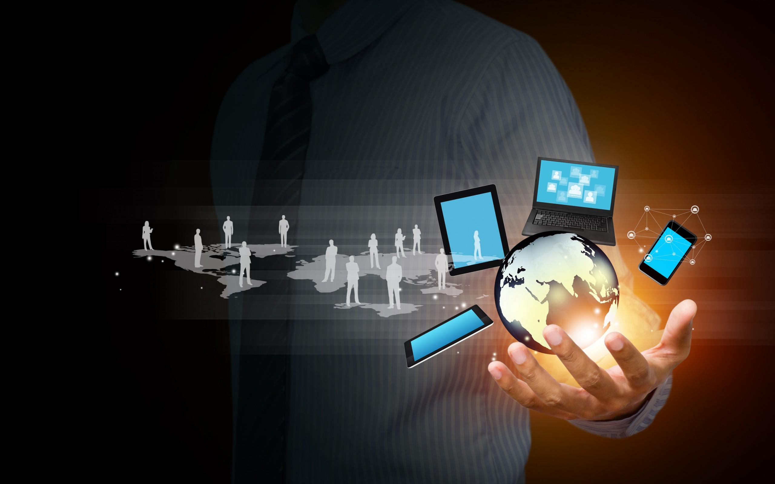 Information-Technology-Network-Hand-Business-Desktop-Wallpaper