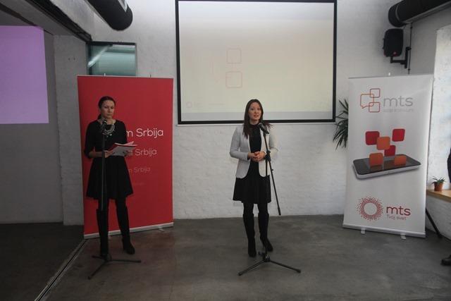 Obraćanje Marije Bošković, direktorke Sektora za PR Telekoma Srbija