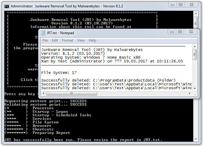 Uklanjanje neželjenog softvera