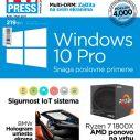 U regularnoj trafici štampano, a u elektronskoj digitalni PC Press #241