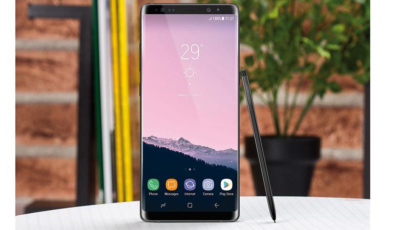 Samsung Galaxy Note 8 telefon cena fotografija specifikacije