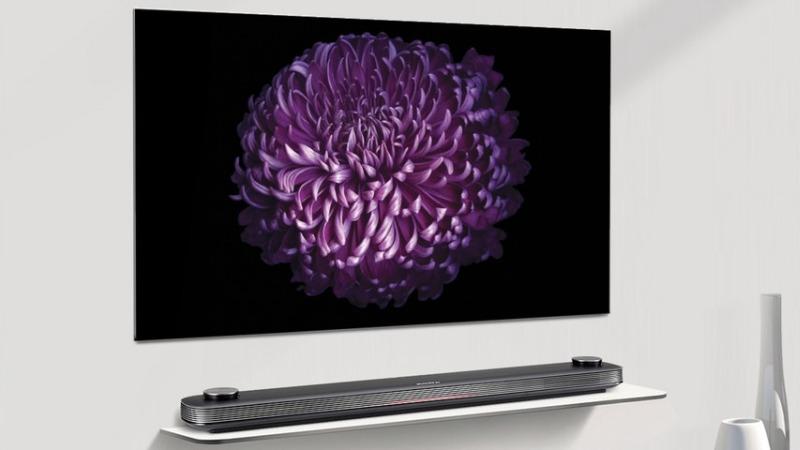 LG W7 Walpaper TV