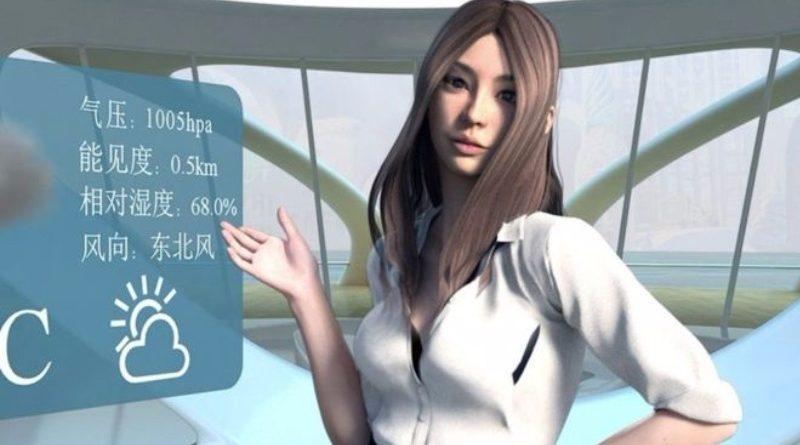 virtuelna sekretarica seksi skinuta VR headset kina program