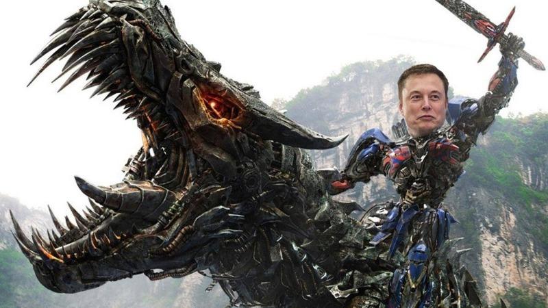 Elon Musk pravi kiborga zmaja multimilijarder tviter tesla spacex