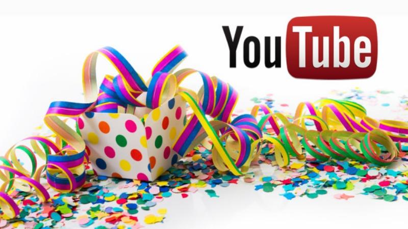 YouTube proslavio 13. rođendan godina video jutjub prvi video jutjuber