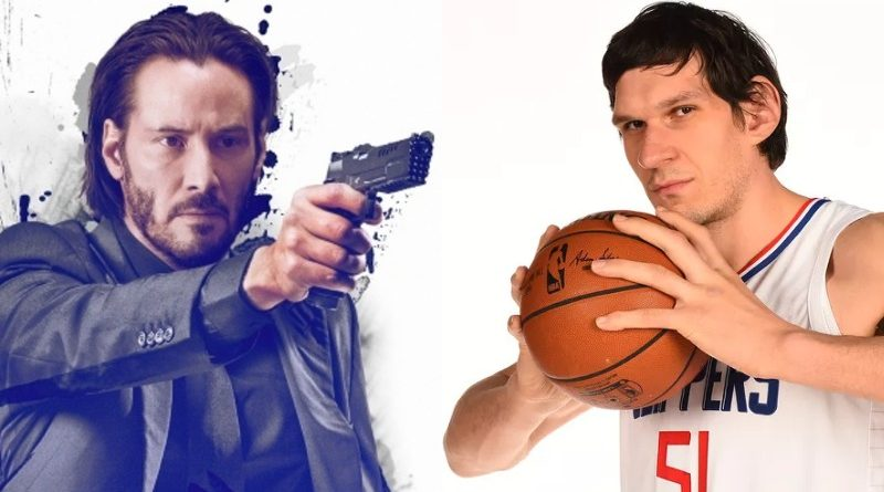 john wick keanu reeves boban marjanović chapter 3