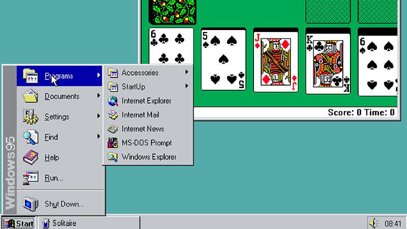 Windows 95 aplikacija: Povratak u devedesete | | PC Press