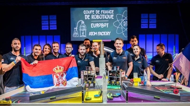 IT studenti eurobot 2019