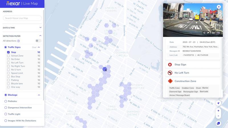 Nexar Live Map Kao Google Street View Samo Skoro Uzivo Pc Press