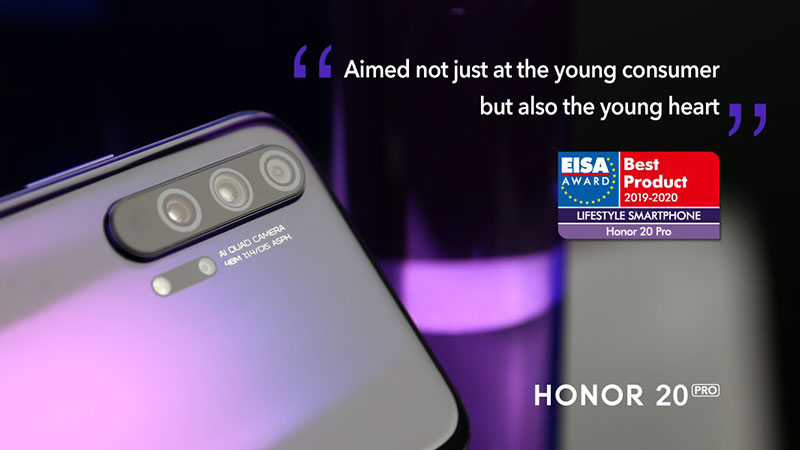 Honor 20 Pro Phone EISA Approved |