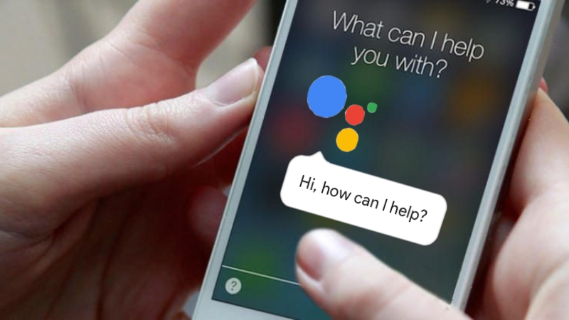 Google assistant on a phone