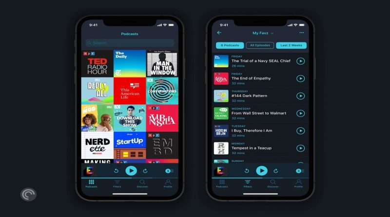 pocket casts aplikacija
