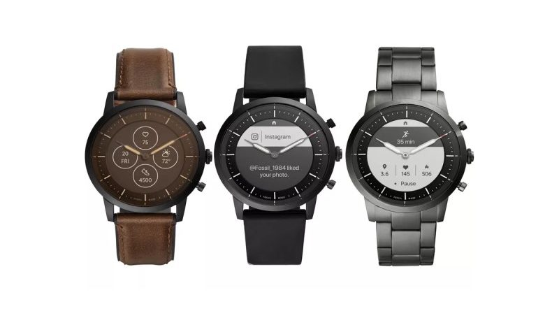 Fossil watches with Google OS